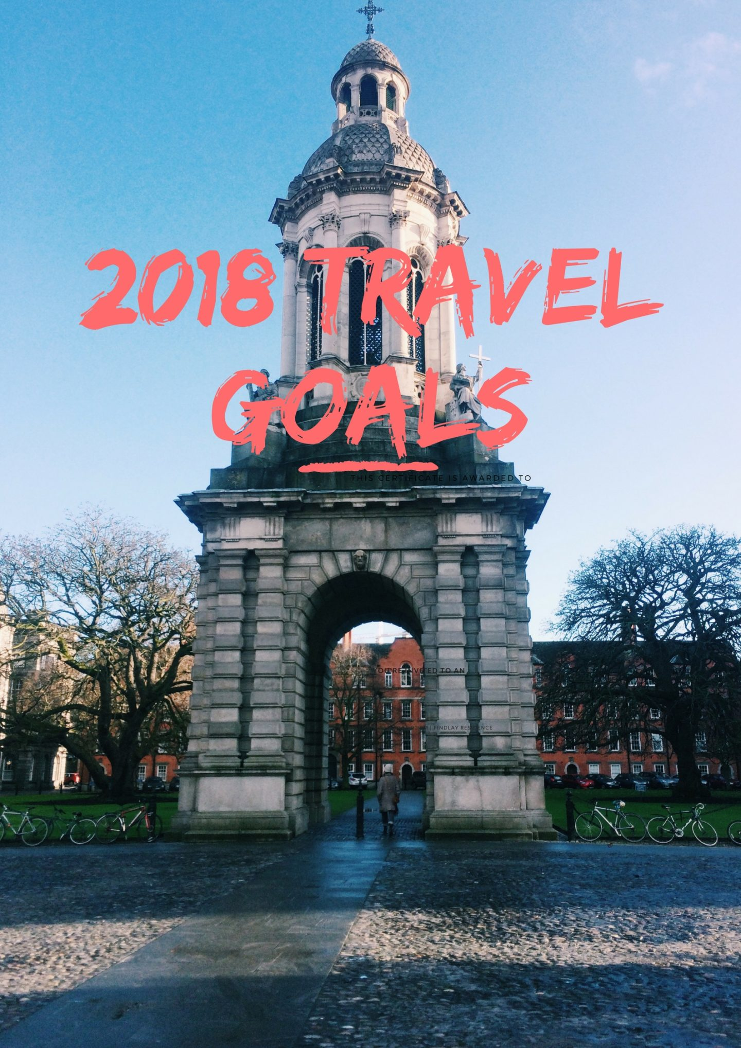 2018 travel goals